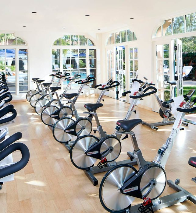 BIKE WORKOUT ROOM